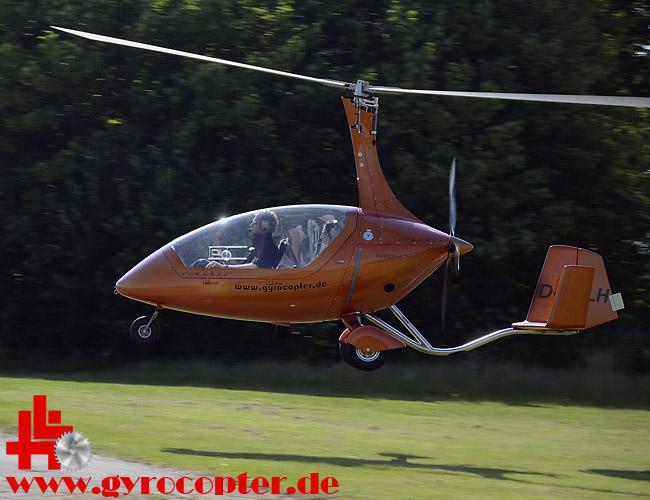 Gyrocopter, AutoGyro, Calidus, Tragschrauber UL-Flugzeug ...